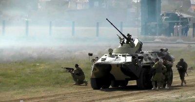 Rus ordusundan gövde gösterisi