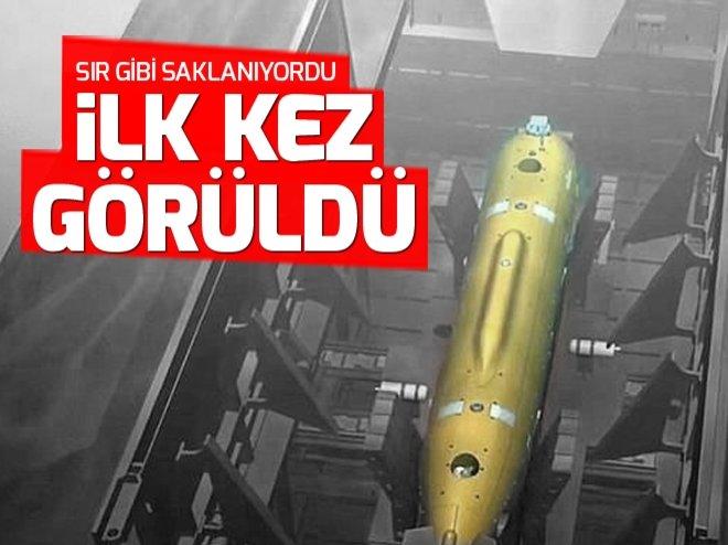 PUTİN'İN 'KAMİKAZE DENİZALTISI' GÖRÜNDÜ