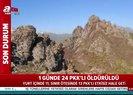 Son dakika: Bir günde 24 PKK'lı terörist öldürüldü  Video
