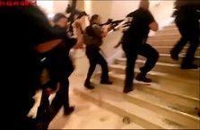 Trump'a kızdı, otelini bastı! Korku dolu anlar