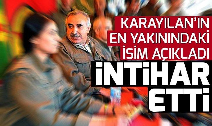 PKK elebaşı Murat Karayılan'ın tecavüz ettiği kadın terörist el bombasıyla intihar etti