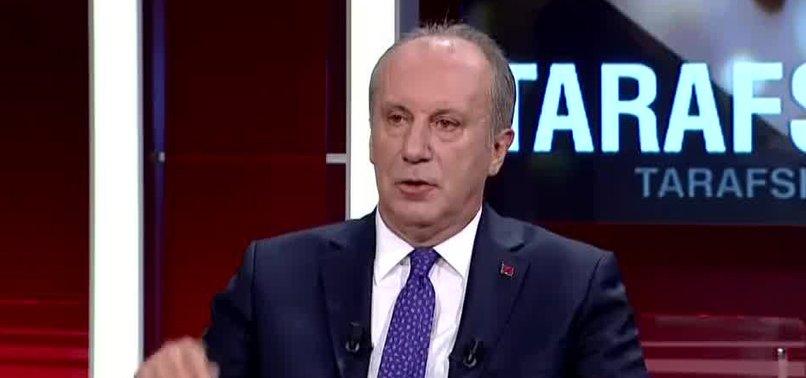 Muharrem İnce Kılıçdaroğlu'nun sözlerine ateş püskürdü: Yalanın da iftiranın da merkezi CHP Genel Merkezi
