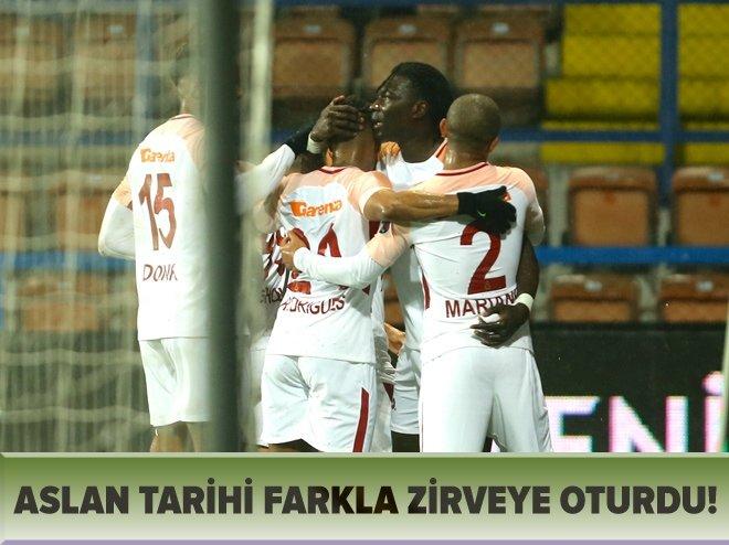 ASLAN TARİHİ FARKLA GALİP!