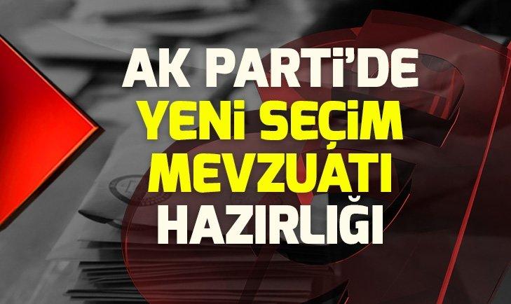AK Parti yeni seçim mevzuatı hazırlığında