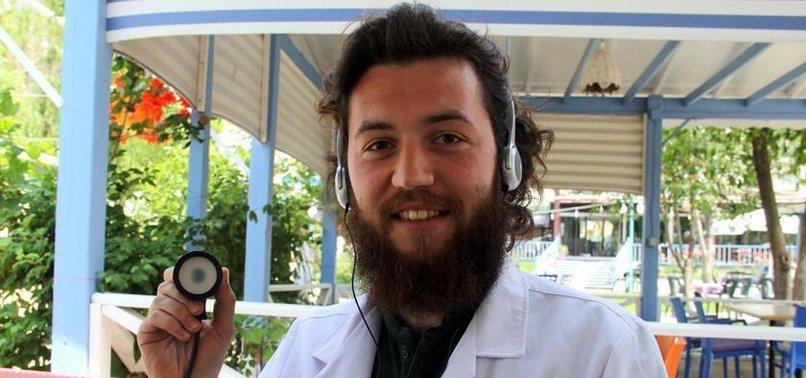 İŞİTME ENGELLİ DOKTOR ADAYINA ÖZEL STETESKOP