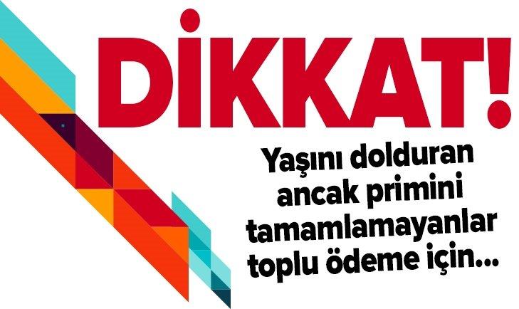 EMEKLİLİKTE TOPLU PARA FORMÜLÜ!
