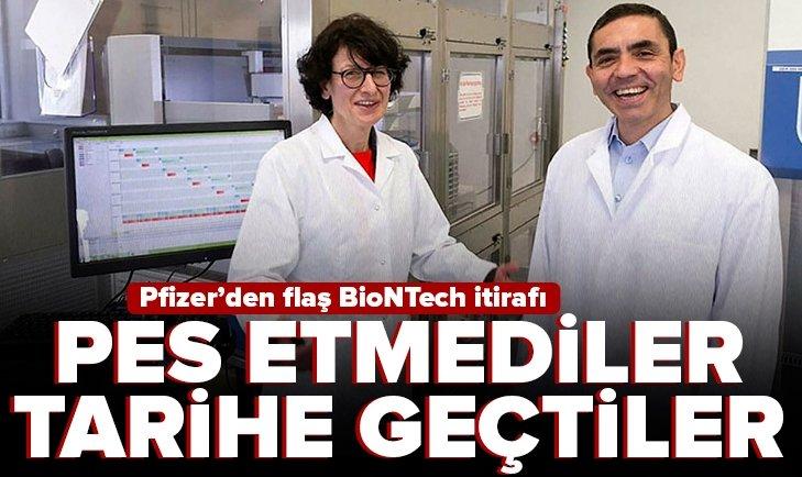 Pfizer'den flaş BioNTech aşısı itirafı! Prof.Dr Uğur Şahinile eşiÖzlem Türeci...