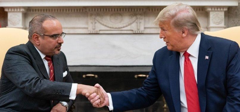 TRUMP'TAN BAHREYN PRENSİ'NE: BU PARA SİZE FAZLA