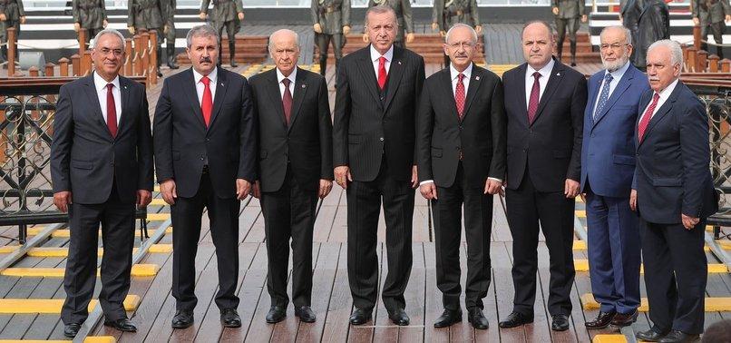 ERDOĞAN: TÜRKİYE'Yİ DAHA İLERİ TAŞIYALIM