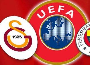 UEFA'dan Galatasaray ve Fenerbahçe uyarısı