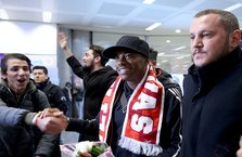 Robinho, İstanbul'a geldi