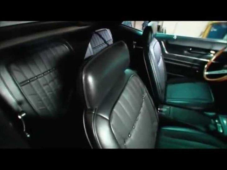1969 model Camaro aracın son hali hayran bıraktı! Hurdalıktan satın almıştı
