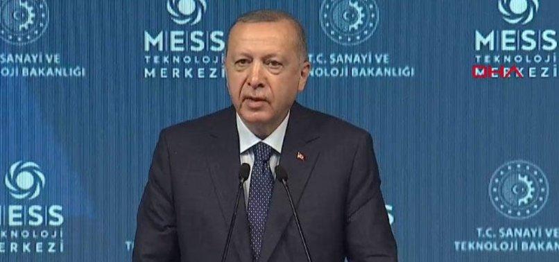 Son dakika: Başkan Erdoğan'dan MESS Teknoloji Merkezi ve 40 Fabrika Açılış Töreni'nde önemli açıklamalar