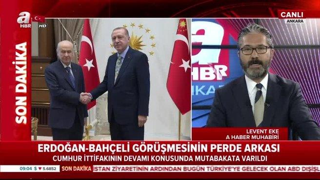 Başkan Erdoğan-Bahçeli görüşmesinde neler konuşuldu?