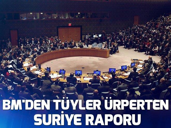 BM'DEN TÜYLER ÜRPERTEN SURİYE RAPORU