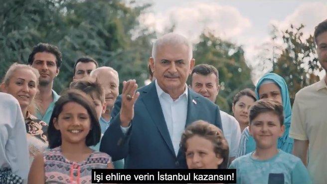Yıldırım'dan paylaştı: İşi ehline verin İstanbul kazansın