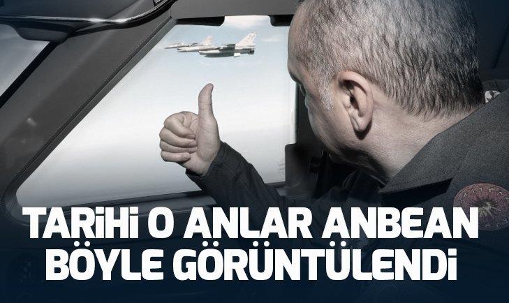 Başkan Recep Tayyip Erdoğan Teknofest alanına böyle geldi!