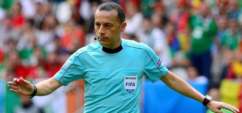 UEFA CÜNEYT ÇAKIR KARARINI VERDİ!