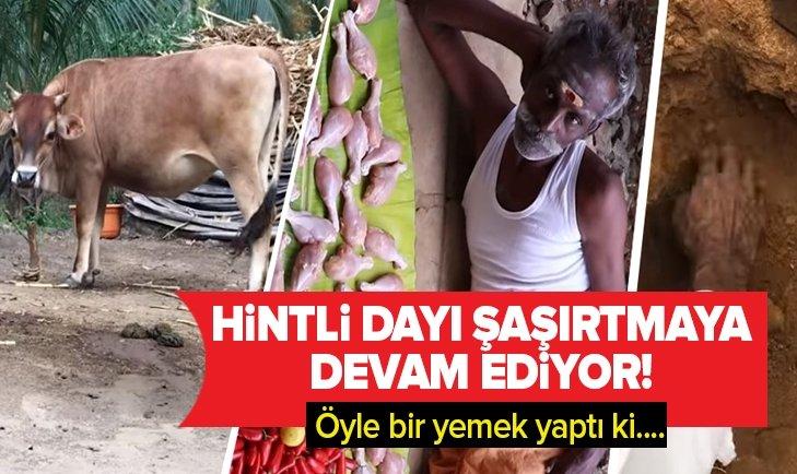 HİNTLİ DAYI HERKESİ ŞAŞIRTMAYI BAŞARDI!