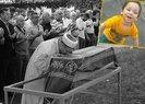Vahşice katledilen minik Eymen'e son veda yürekleri dağladı |Video