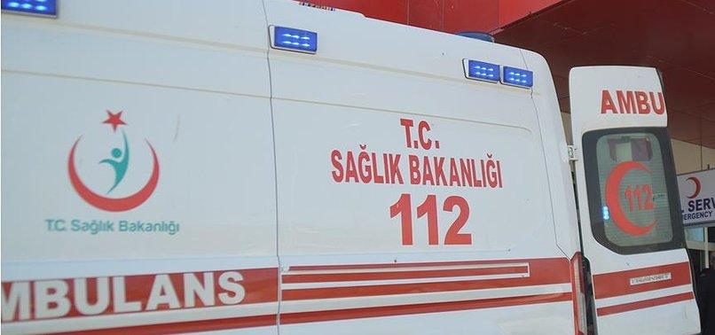 BATMAN'DA ZIRHLI POLİS ARACI DEVRİLDİ