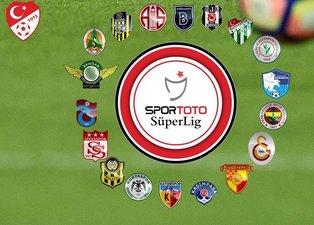 Süper Lig canlı puan durumu! Süper Lig'de 29.hafta fikstürü!