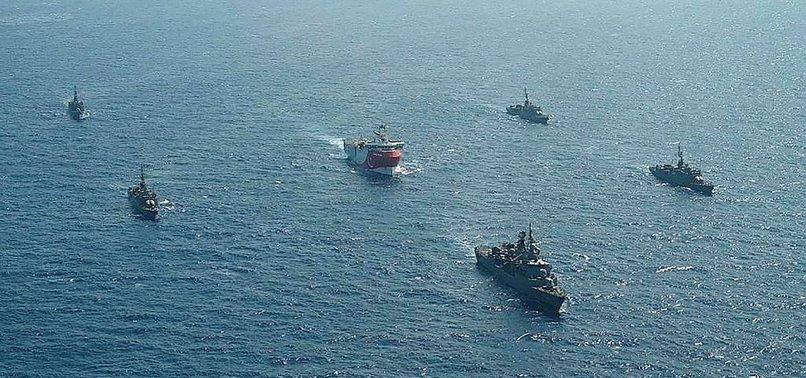 Başkan Erdoğan ilk cevabı aldılar demişti! Yunan gemisi kaçtı...