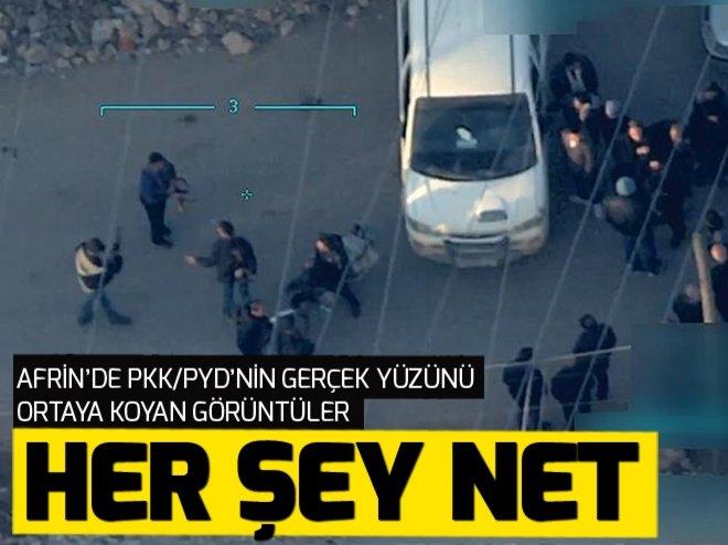 AFRİN'DE PKK/PYD'DEN SİVİLLERE ENGEL