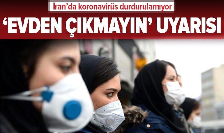 İRAN'DA KORONAVİRÜS BİLANÇOSU AĞIRLAŞIYOR!