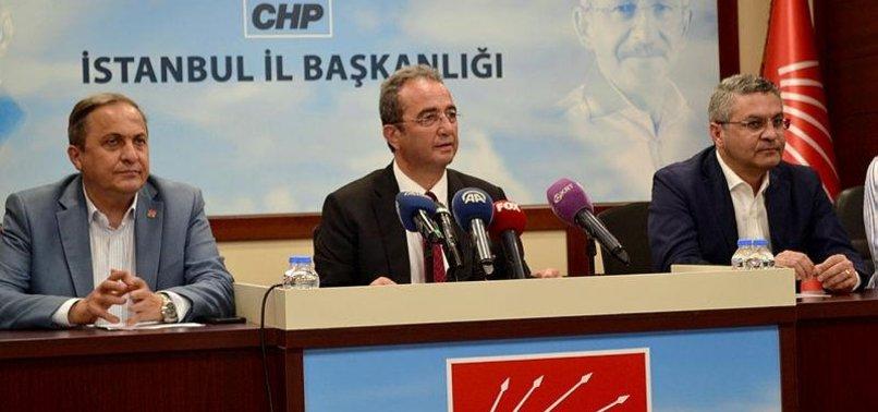 CHP'Lİ BÜLENT TEZCAN SORULARDAN KAÇTI