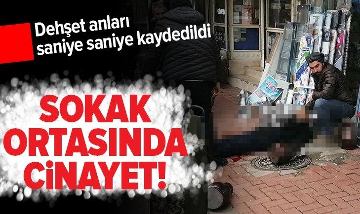 MANİSA'DA SOKAK ORTASINDA CİNAYET!