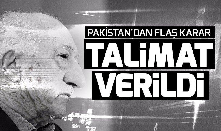 Son dakika: Pakistan, FETÖ'yü terör örgütü ilan ediyor
