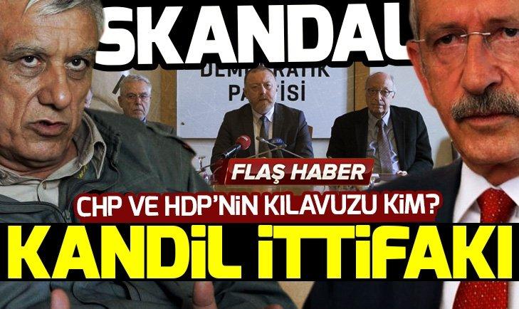 Teröristbaşı çağrı yaptı CHP ve HDP ittifakı hızlandırdı!