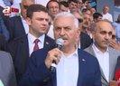 Binali Yıldırım'dan İstanbul Havalimanı'na ziyaret |Video