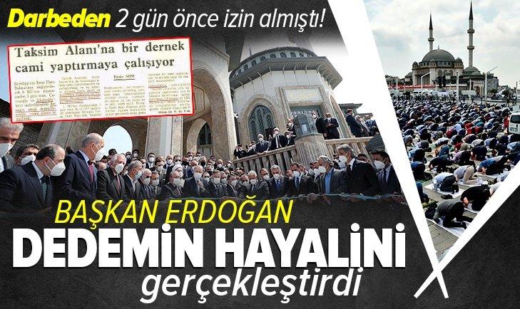 80 darbesinden 2 gün önce izin almıştı! Dedemin hayalini Başkan Erdoğan gerçekleştirdi