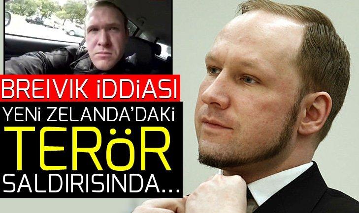 Breivik iddiası! Yeni Zelanda'daki terör saldırısında…