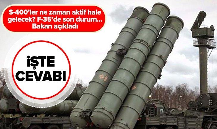 İŞTE S-400'LERİ AKTİF HALE GELECEĞİ TARİH!