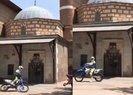 Mansur Yavaş'ın adamları Hacı Bayram-ı Veli Camii ve Türbesi önünde drift skandalına imza attı