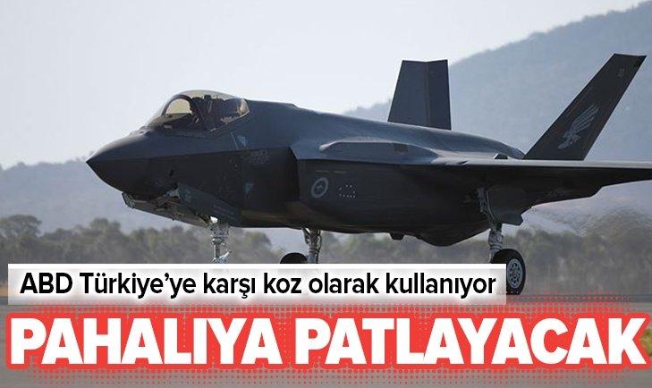 F-35'LER ABD'YE PAHALIYA PATLAYACAK