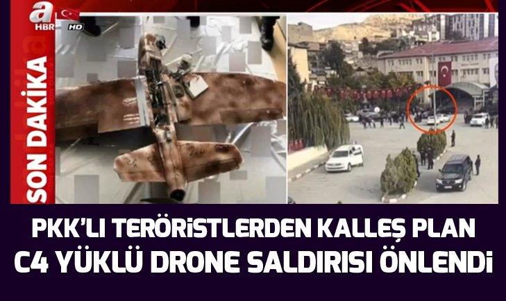 DRONE SALDIRISI SON ANDA ÖNLENDİ