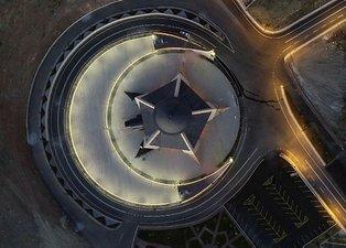 Sivas'ta yapımı tamamlanan Türkiye'nin ilk ay yıldızlı camisi yarın açılıyor