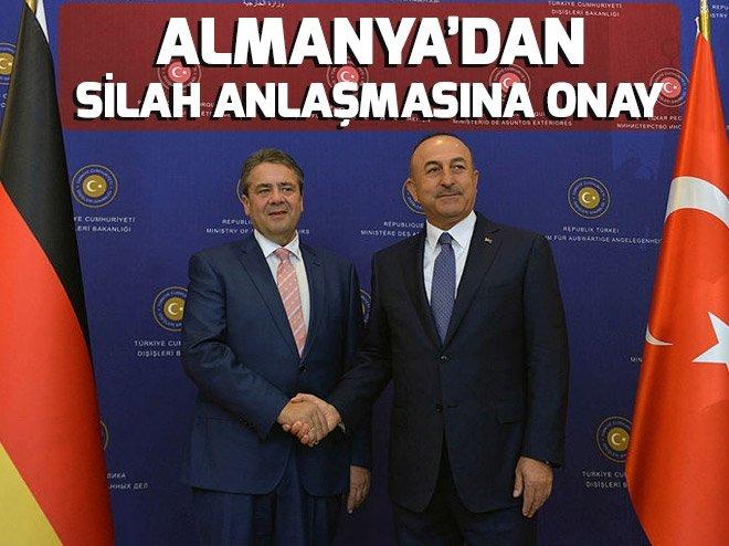 Almanya'dan Türkiye'yle silah anlaşmasına onay