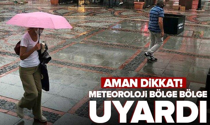 19 Eylül İstanbul, İzmir, Ankara hava durumu: Bugün hava nasıl olacak? Meteoroloji saat verdi | Sağanak yağış uyarısı