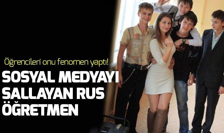 RUS ÖĞRETMEN SOSYAL MEDYAYI SALLADI!