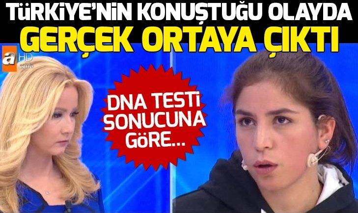 MÜGE ANLI DNA TESTİ SONUÇLARINI AÇIKLADI