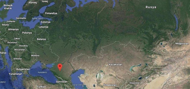 RUSYA'DA SAVAŞ UÇAĞI DÜŞTÜ