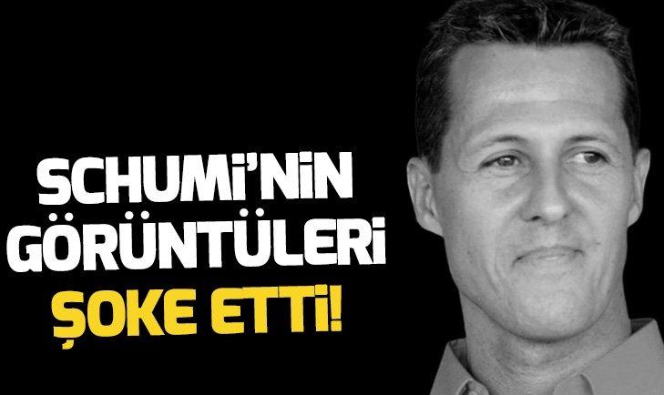 SCHUMACHER'İN GÖRÜNTÜSÜ HERKESİ ŞOKE ETTİ!