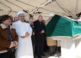 Başkan Erdoğan Akif Çağatay Kılıç'ın babası Sinan Kılıç'ın cenaze namazına katıldı