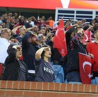 Trabzonspor - Gazişehir maçından ekrana yansımayanlar