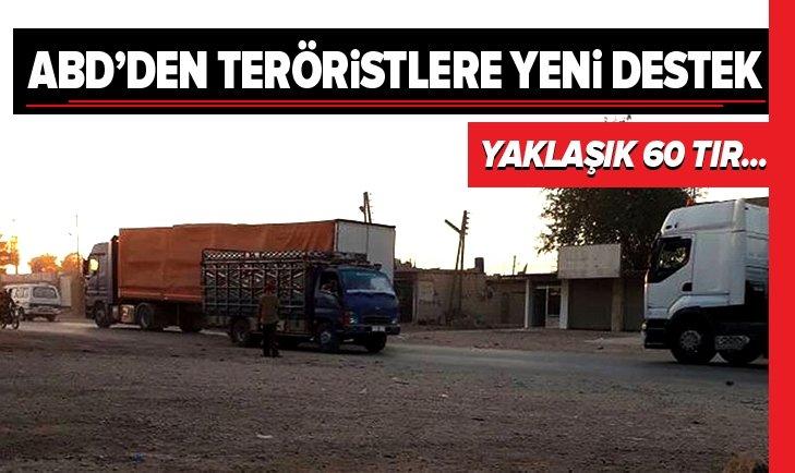 ABD'DEN TERÖR ÖRGÜTÜ YPG/PKK'YA YENİ SEVKİYAT